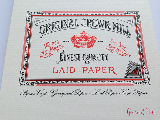 Original Crown Mill Fine Laid Paper 2