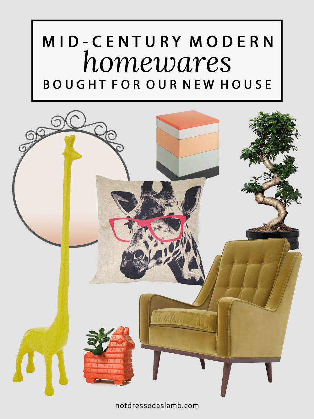 All the Mid-Century Modern Homewares We've Bought For Our New House | Not Dressed As Lamb
