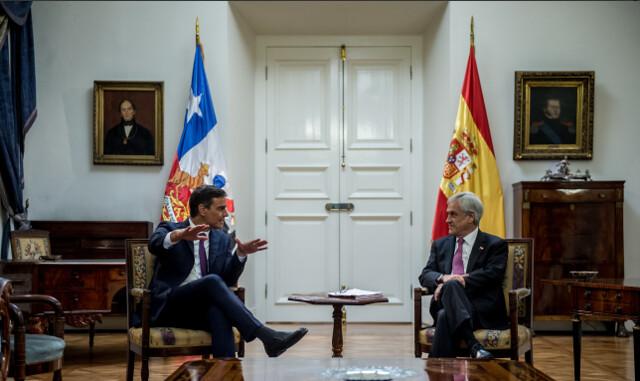 No Chile, premiê espanhol pede diálogo a favor da Venezuela e rechaça intervenção