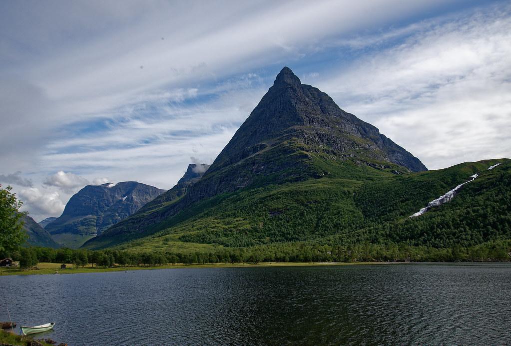 Норвегия 2018. Долина Amotan. Innerdalen Valley.Трек на Litlefjellet.