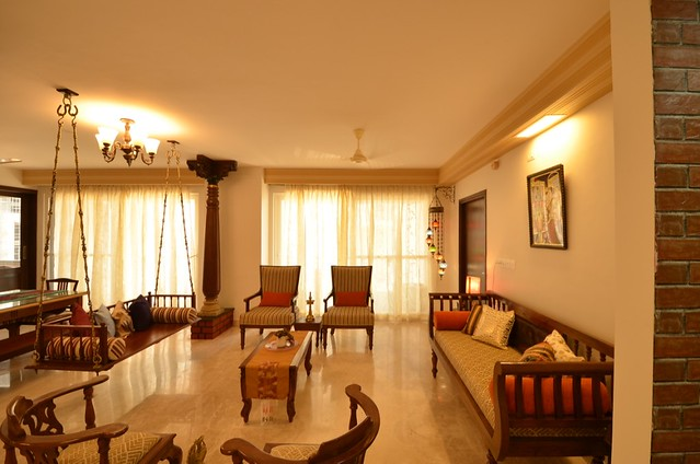 A chettinad style apartment in bangalore dress your home - Apartment interiors in bangalore ...