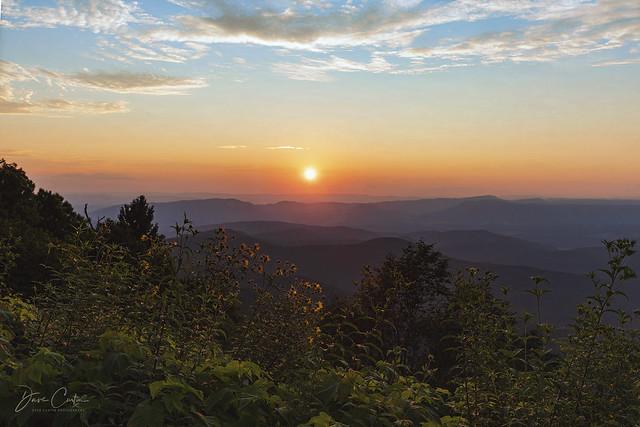 Arnold Valley Sunset