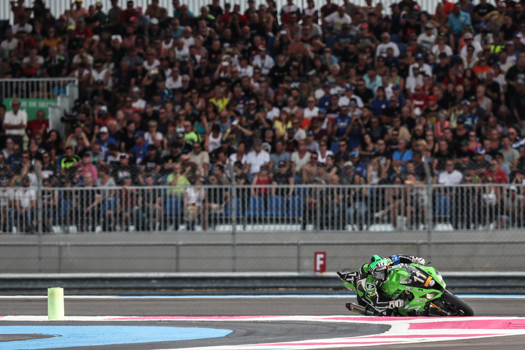 Bol,Dor,2018,Depart , TEAM SRC KAWASAKI FRANCE, GUARNONI Jeremy, CHECA David, DE PUNIET Randy, Kawasaki, ZX-10R, EWC
