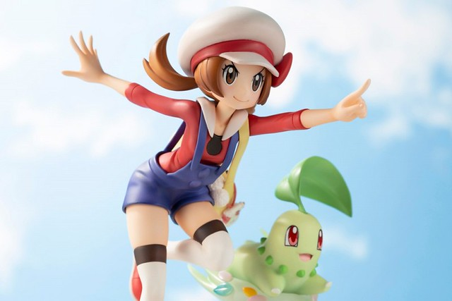ARTFX J Lyra with Chikorita 1/8 Scale Figure from HGSS
