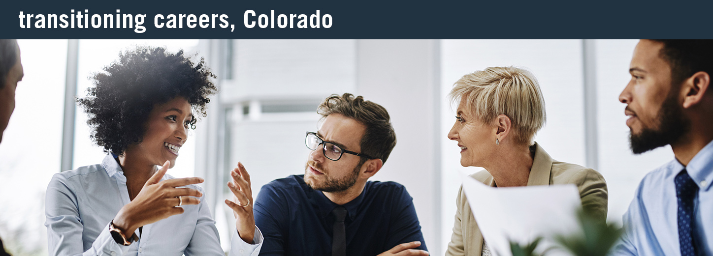 transitioning careers colorado
