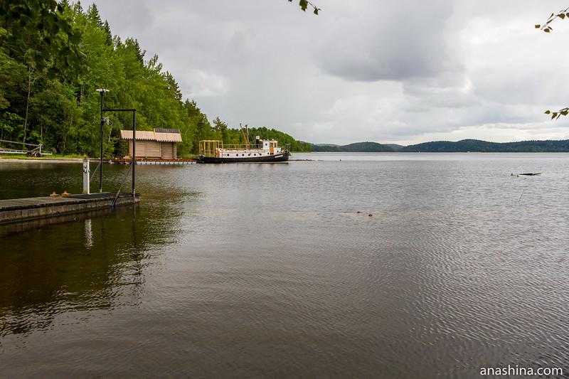 Берег Ладожского озера