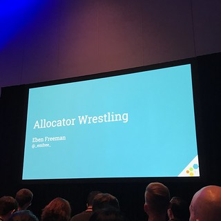GopherCon 2018 Allocator Wrestling