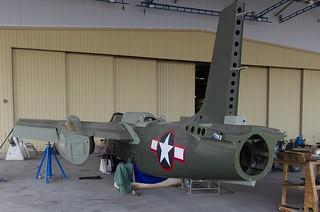 Douglas A-20 Havoc awaiting restoration (photo: John Bezosky Jr)
