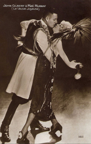 John Gilbert and Mae Murray in The Merry Widow (1925)