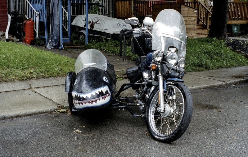 Bike and Sidecar_