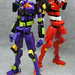Evangelion Unit-01 Unit-02 by nobu_tary