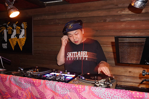 2018.06.23 D-FUNK feat. DJ GAJIROH(BONGBROS/Kyoto)+rapper WELL-DONE(Kyoto)