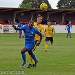 Barking FC v Witham Town FC - Saturday August 18th 2018
