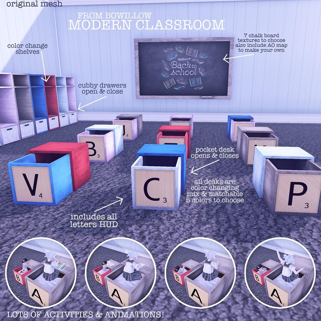 Moder Classroom Ad - TeleportHub.com Live!