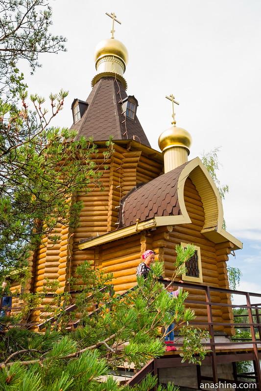 Храм апостола Андрея Первозванного на Вуоксе