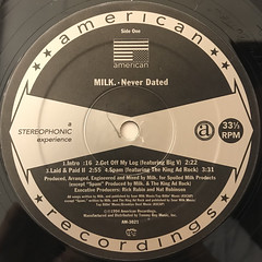 MILK:NEVER DATED(LABEL SIDE-A)