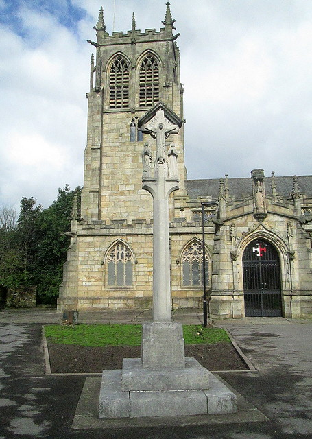 St Chad's, Rochdale, War Memorial