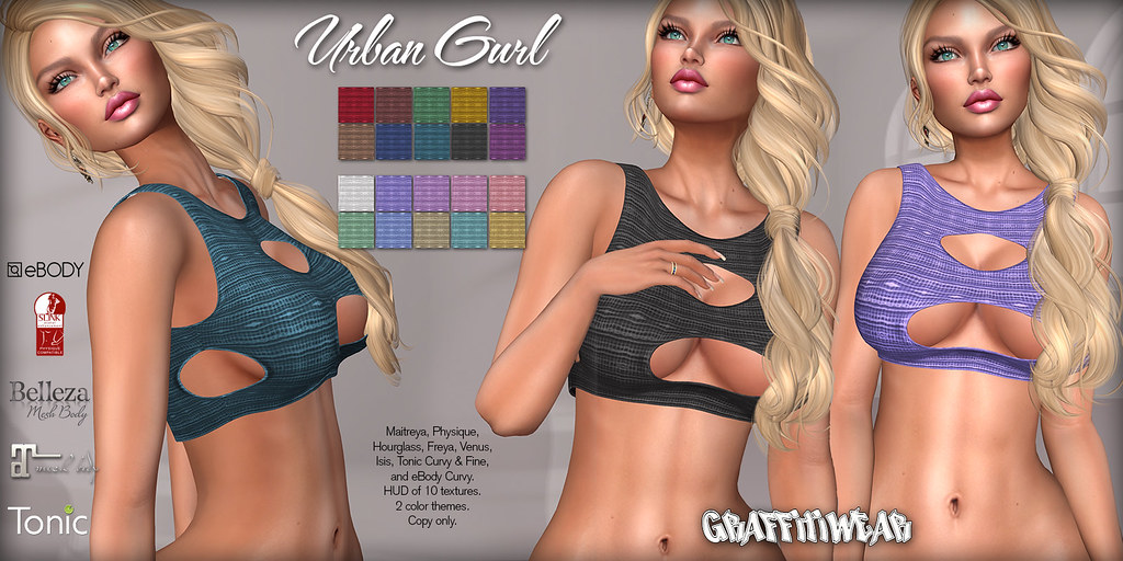 Urban Girl Top Ad