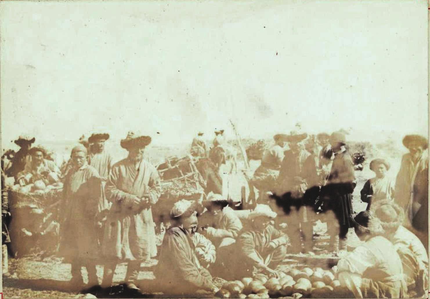 Рынок в Копале