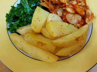 Lemony Roasted Potatoes