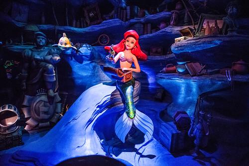 The Little Mermaid ~ Ariel's Undersea Adventure - Disney California Adventure