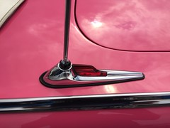 06I 1955 Ford Fairlane Sunliner Convertible - Electric Antenna Ornamentation