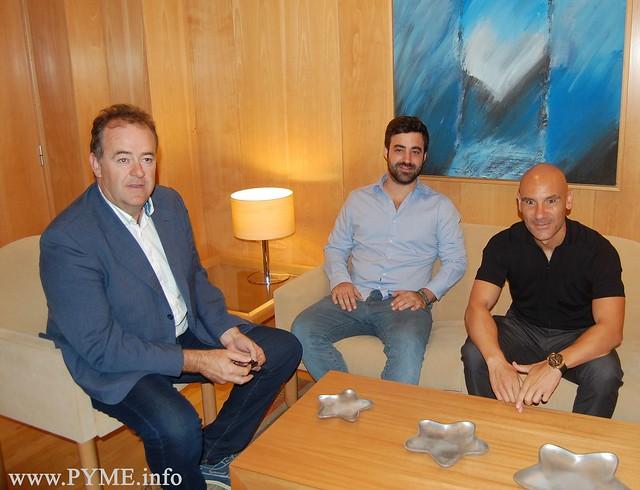 CONFAES mantiene un encuentro con los representantes de Unionistas y Salamanca UDS