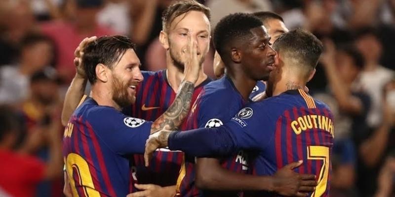 Rakitic ingin lebih dari Barcelona hat-trick hero Messi