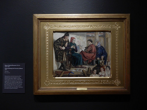 DSCN2642 - Giotto Painting the Portrait of Dante, Dante Gabriel Rossetti, The Pre-Raphaelites & the Old Masters