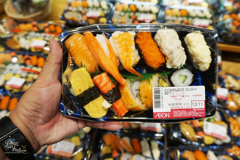 aeon tebrau city sushi set