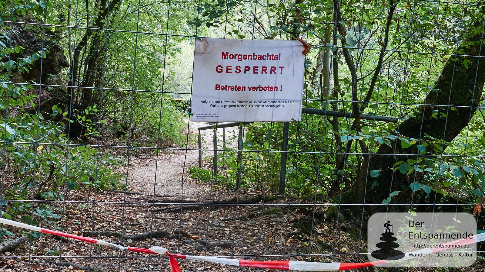 Gesperrt: Unteres Im Morgenbachtal