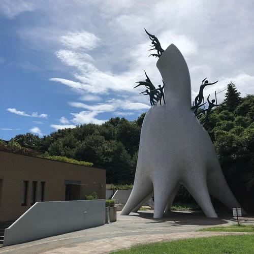 川崎市生田緑地 岡本太郎美術館 母の塔