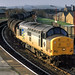 37885 7E34 Ashton in Makerfield-Preston Docks-Lindsey, Accrington 18.11.1993