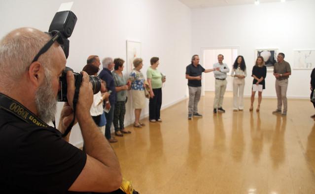 """PILAR COSSIO - EXPOSICIÓN """"FRACTAL SAND"""" Y LIBRO """"SPLENDOR LUNA"""" - ATENEO CULTURAL EL ALBÉITAR 11.9.18"""
