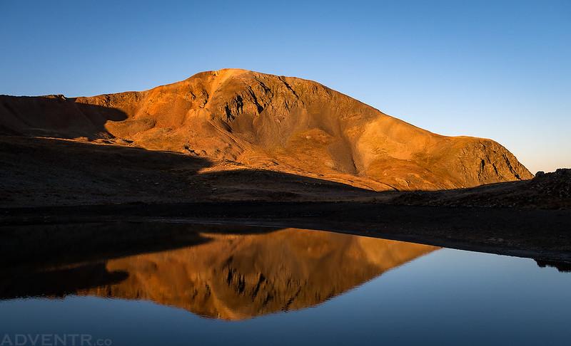 Cinnamon Mountain Reflection