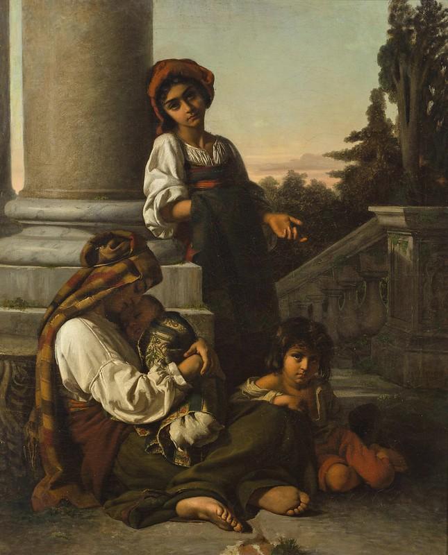 Rudolf Lehmann - The eyes of innocence (1852)