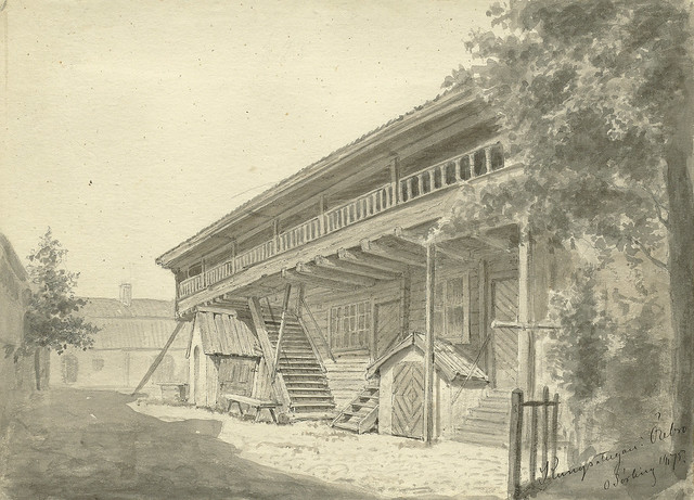 Kungsstugan (The King's Cottage), Örebro, Närke, Sweden