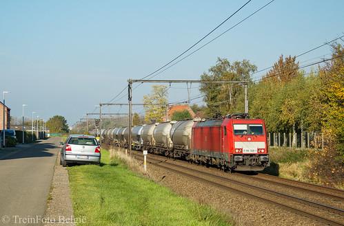 DB Cargo 186 328 Wijgmaal
