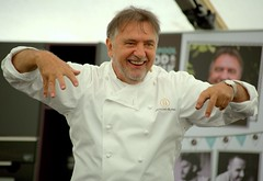 Celeb Chef Raymond Blanc at Liverpool Food & Drink Festival 2018