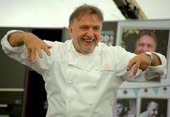 Celeb Chef Raymond Blanc at Liverpool Food & Drink Festival 2018
