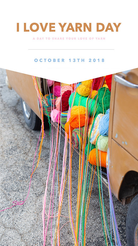 I Love Yarn Day - Upcoming Yarn Crawl  Event
