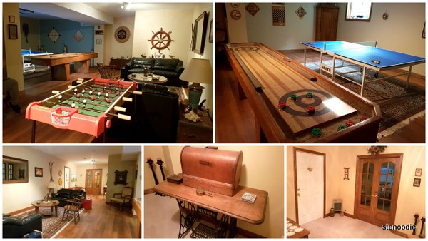 Woodlands Garden Bed & Breakfast Games Room