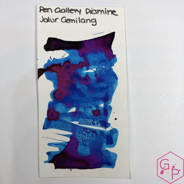 Pen Gallery Diamine Jalur Gemilang Ink Review 4