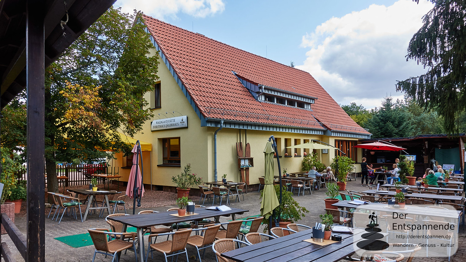 Forsthaus Jägerhaus im Binger Wald