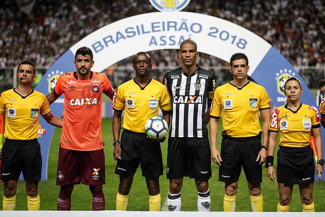 Atlético x Atlético PR 10.09.2018 - Campeonato Brasileiro 2018