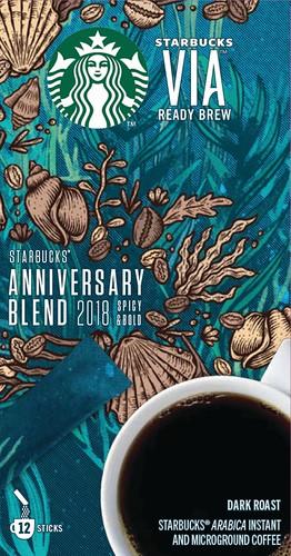 Starbucks VIA Anniversary Blend