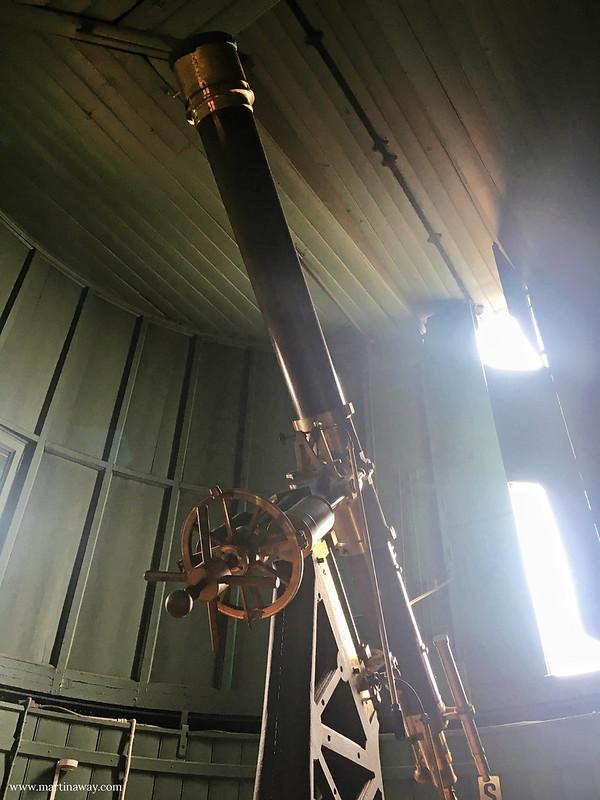 Telescopio all'Osservatorio della Pinacoteca di Brera