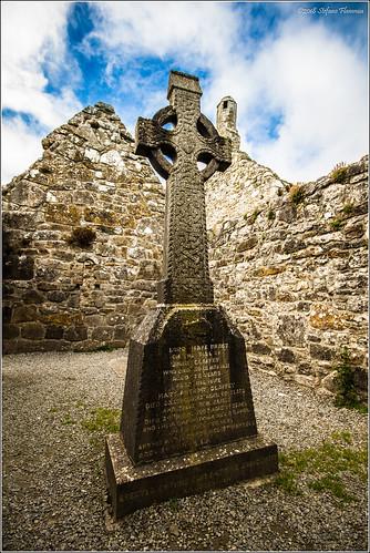 clonmacnoise antico rovine ireland irlanda monastero celtica