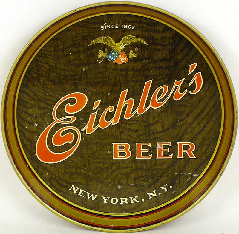 Eichlers-Beer-Serving-Trays-10-16-inches-John-Eichler-Brewing-Co--Post-Prohibtion