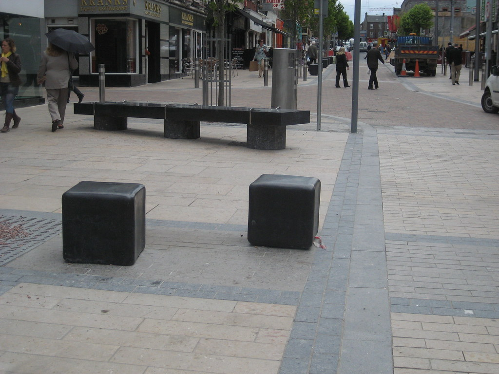 Cubed seats in Limerick